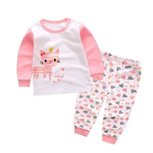 Picture of Pink Kitten Pattern Pyjamas Sleepwear Set