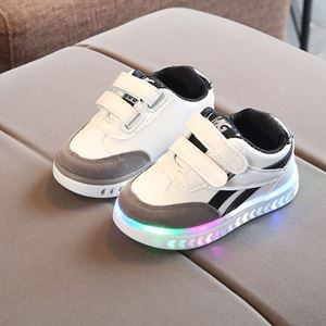 Picture of Fashionable Cool Sport Shoes With Lighting