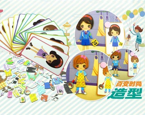 Picture of Creative Magnetic Puzzle Book  Children's Educational Toys