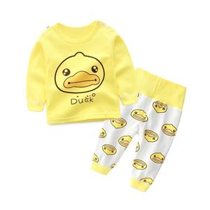 Picture of Duck Pyjamas Sleepwear High Waist Bellyband Pants