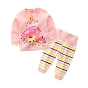 Picture of Mushroom Pyjamas Sleepwear High Waist Bellyband Pants
