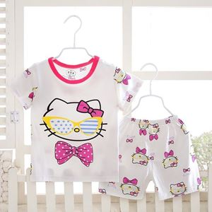 Picture of Hello Kitty Printed Short Sleeve Casual Wear Clothing Set