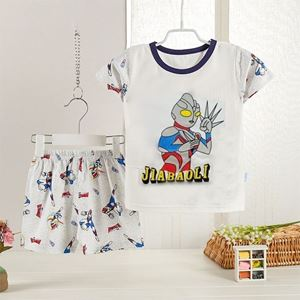 Picture of Ultraman Printed Short Sleeve Casual Wear Clothing Set