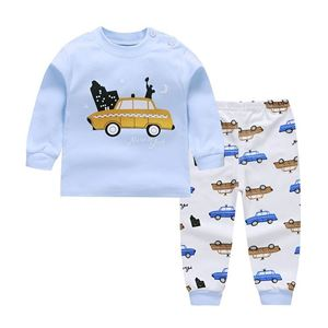 Picture of Car New York Pattern Pyjamas Sleepwear Set