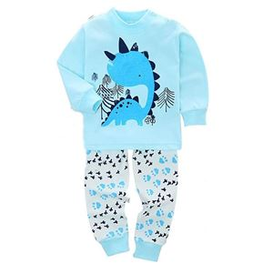 Picture of Blue Dinosaur Pattern Pyjamas Sleepwear Set