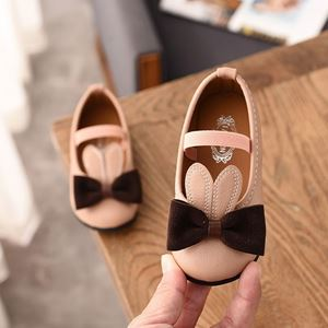 Picture of Fashionable Cute Cartoon Rabbit Bow Girl Shoes