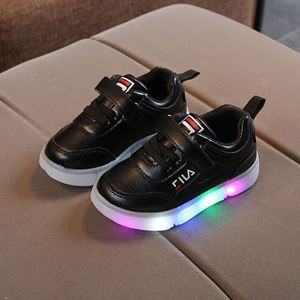Picture of Fashionable Fila Sport Shoes With Lighting