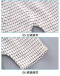 Picture of Printed House Short Sleeve Shirt and Pant Two-Piece Set