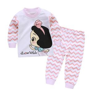 Picture of Cute Snow Pattern Pyjamas Sleepwear Set