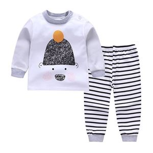 Picture of Hat Bear Pattern Pyjamas Sleepwear Set