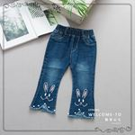 Picture of Cute Rabbit Stylish Jeans Long Pants for Kids
