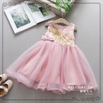 Picture of Graceful Embroidered Phoenix Sleeveless Princess Dress