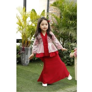 Picture of Elegant Fashion Kebaya Modern Kurung Set (Big Size)