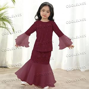 Picture of Elegant Fashion Mermaid Modern Kurung Set (Big Size)