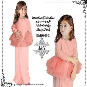 Picture of Elegant Fashion Modern Ribbon Lace Kurung Set (Big Size)