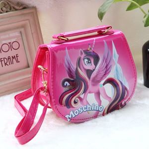 Picture of Fashion Adorable Unicorn Sling Bag for Kids Girls
