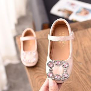 Picture of Fashionable Girls Rhinestone Banquet Shoes For Kids