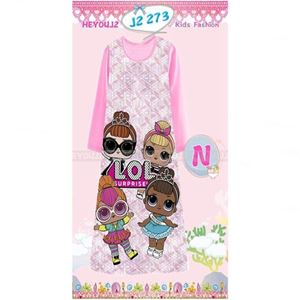 Picture of LOL Pattern Long Dress Sleepwear For Kids (2-7y)