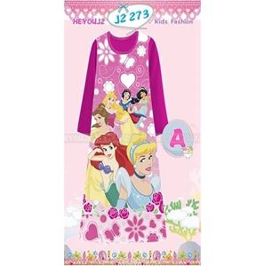 Picture of Princess Pattern Long Dress Sleepwear For Kids (2-7y)