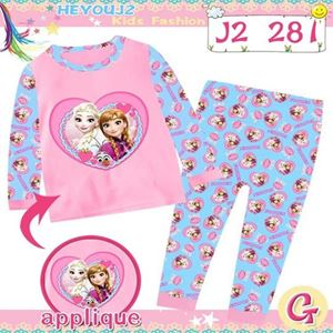 Picture of 2-Piece Frozen Printed LongSleeve Casual Wear Clothing Set(3-7y)