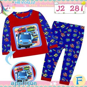 Picture of 2-Piece Tayo Printed LongSleeve Casual Wear Clothing Set(8-12y)