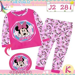 Picture of 2-Piece Minnie Printed LongSleeve Casual Wear Clothing Set(8-12y)