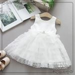 Picture of Elegant Floral Lace Sleeveless Princess Dress