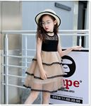 Picture of Elegant Lace Sleeveless  Princess Dress For Girl